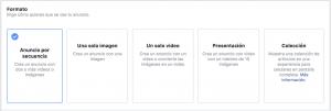 formatos anuncios facebook